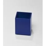 Pot à crayon bleu foncé
