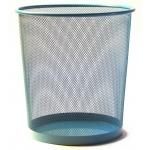 Corbeille à papier turquoise