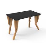 1. TABLE MODULABLE BUREAU INCLINE NOIR