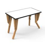2. TABLE MODULABLE OPTION VELLEDA BUREAU INCLINE NOIR