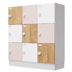 casiers de rangements monoblocs 9 cases