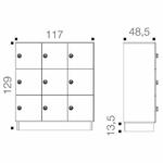 dimensions-casiers-monobloc-12-cases