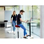 table teletravail et homeoffice design réglable en hauteur