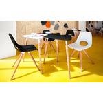 chaise cafétéria tauko design en bois