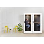 cabine acoustique bureau design économique soho coloré blanc