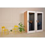 cabine acoustique bureau design économique blanche soho