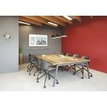 table de réunion design pied A avec top access