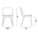 dimension-chaise-design-en-bois