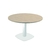 table de cafétéria ronde pied métal