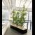 jardinière-basse-en-métal-noir-avec-bambous-artificiels