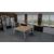bureau 2 personnes bench design partage