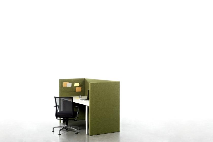 Cloison acoustique individuelle pour bureau - Cloison acoustique bureau ...