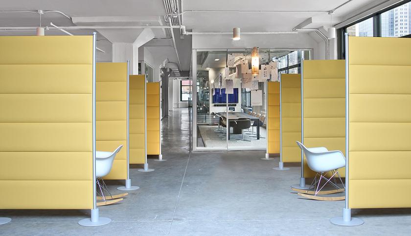 cloison acoustique sur pied pour s parer openspace. Black Bedroom Furniture Sets. Home Design Ideas