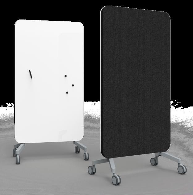 cloison mobile acoustique et magn tique 100 cm. Black Bedroom Furniture Sets. Home Design Ideas