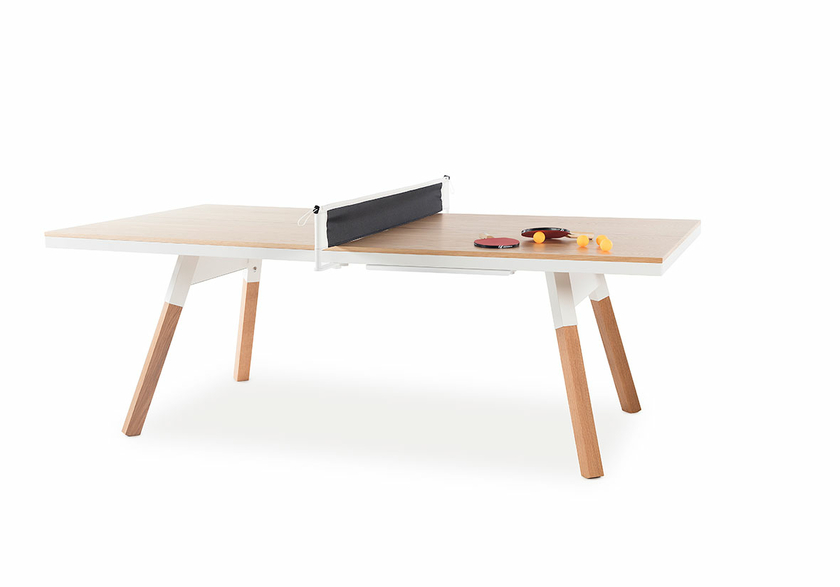 table de r union ping pong ch ne taille medium mobilier babyfoot table de ping pong. Black Bedroom Furniture Sets. Home Design Ideas