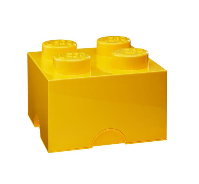 boite de rangement lego jaune. Black Bedroom Furniture Sets. Home Design Ideas