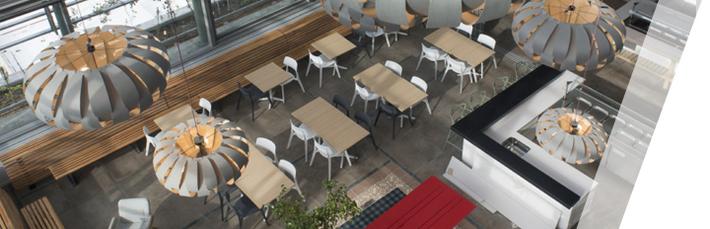 table-de-cafétéria-aménagement-bureau-espace-cafétéria