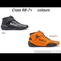 001225 BASKETS SPARCO CROSS RB-7+ FIA + SFI EN CUIR DE KANGOUROU