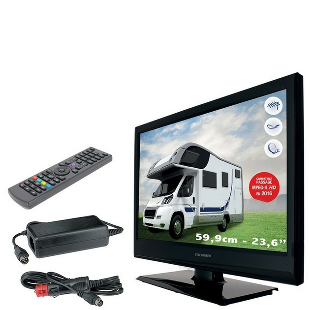 tv led 60 cm camping car t l viseurs mdantenne. Black Bedroom Furniture Sets. Home Design Ideas
