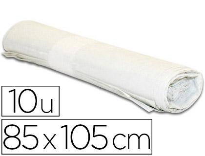 SACS BLANC 100L PACK DE 10