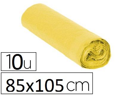 SACS JAUNE 100L PACK DE 10