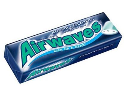 AIRWAVES MENTHE EUCALYPTUS 10 DRAGÉES