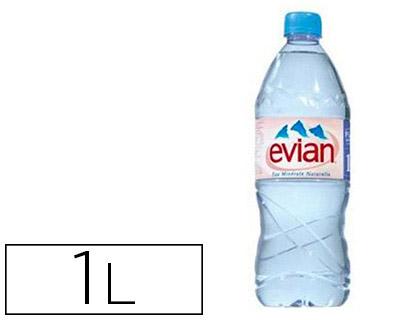 EVIAN BOUTEILLE 1L