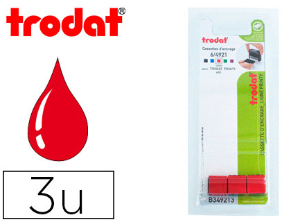 RECHARGE PRINTY 4921 ROUGE