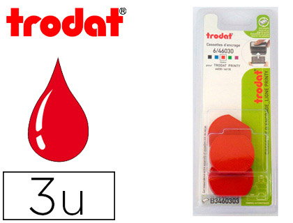 RECHARGE PRINTY 46030 ROUGE