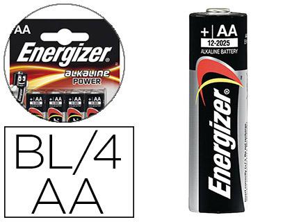 PILES ALCALINES POWER AA/LR06 PACK DE 4