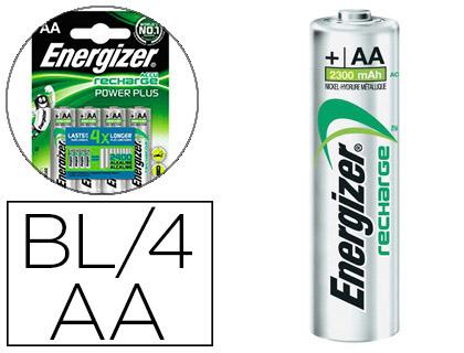 PILES RECHARGEABLES POWERPLUS AA/LR06 PACK DE 2