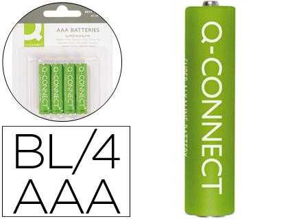 Q-CONNECT PILE AAA/LR03 PACK DE 4