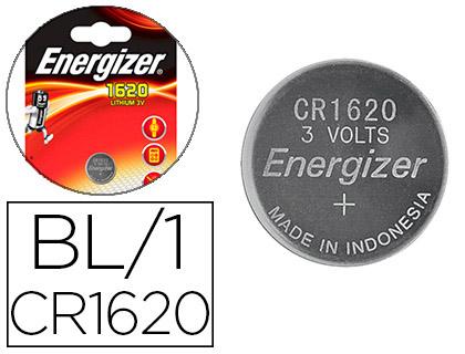 ENERGIZER PILES BOUTON CR1620