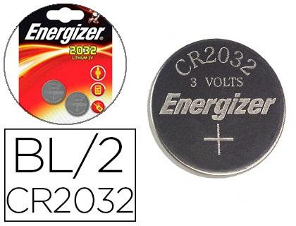 ENERGIZER PILES BOUTON CR2032