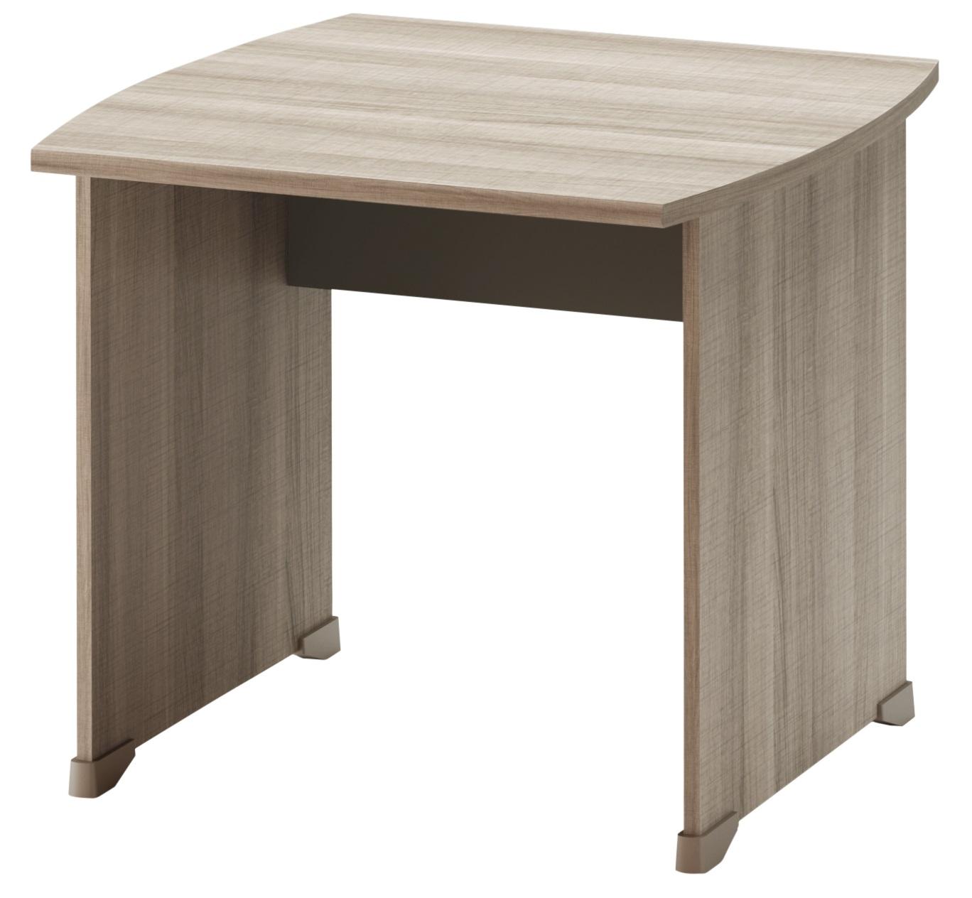 jazz ch ne gris pieds panneaux bureau 80cm mobilier par famille jazz ch ne gris. Black Bedroom Furniture Sets. Home Design Ideas