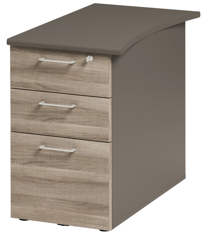 jazz ch ne gris caisson bout de bureau prof 80cm mobilier par famille jazz ch ne gris. Black Bedroom Furniture Sets. Home Design Ideas