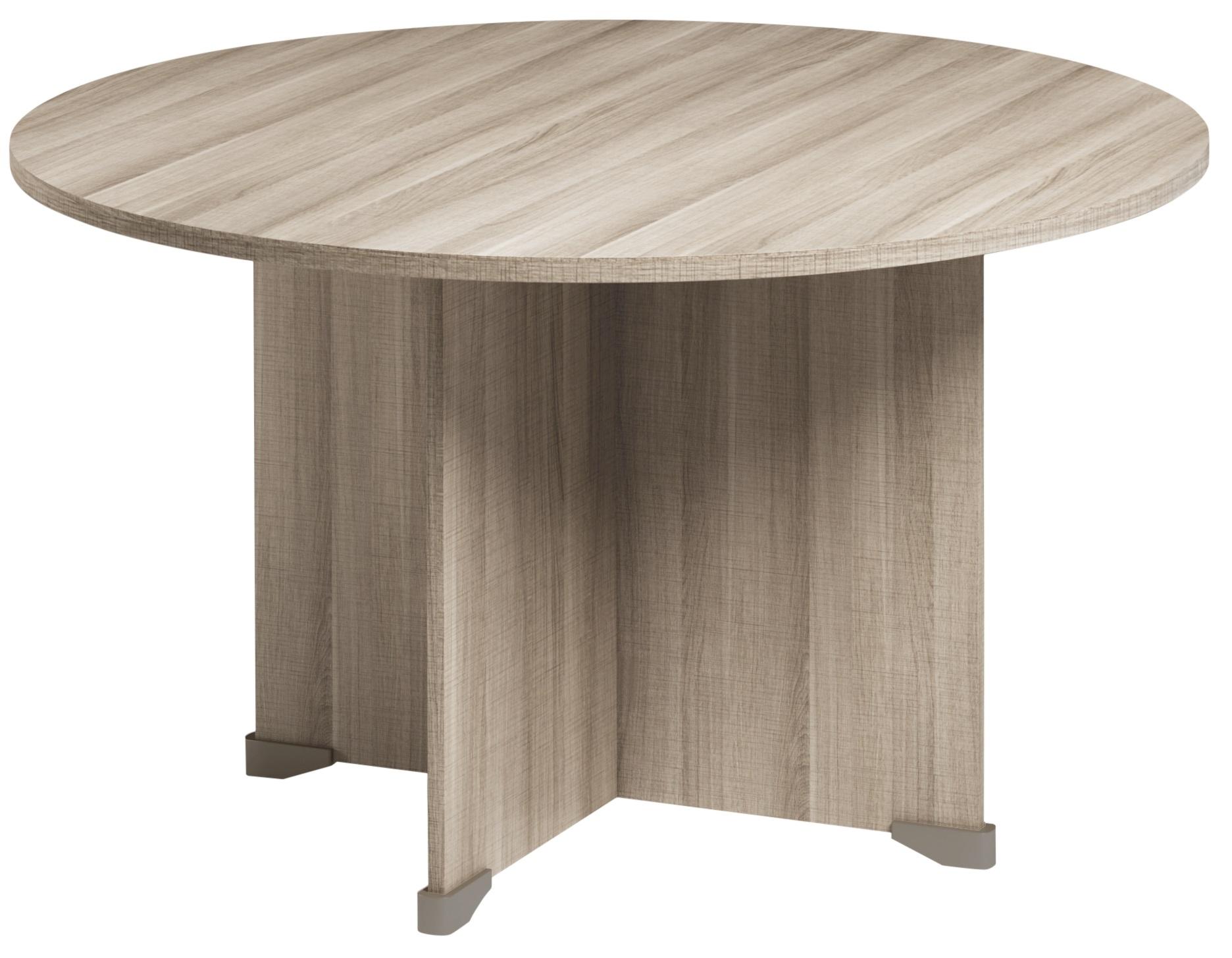 JAZZ+ CHÊNE GRIS TABLE RONDE