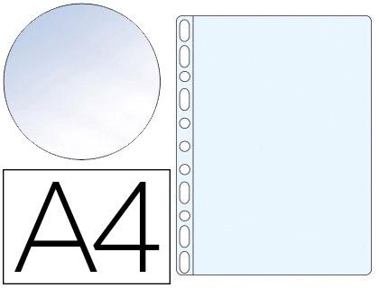 POCHETTES A4 80 MICRONS OUVERTURE EN ANGLE PACK DE 25