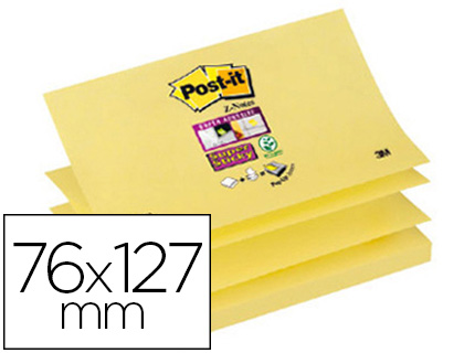 Z-NOTES JAUNE 76X127MM