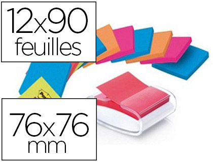DÉVIDOIR BLOCS Z-NOTES PRO BLANC