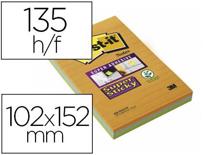 SUPER STICKY GRAND FORMAT 102x152mm