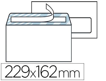 500 ENVELOPPES C5 80g ADHÉSIVES AVEC FENÊTRES 45x100cm
