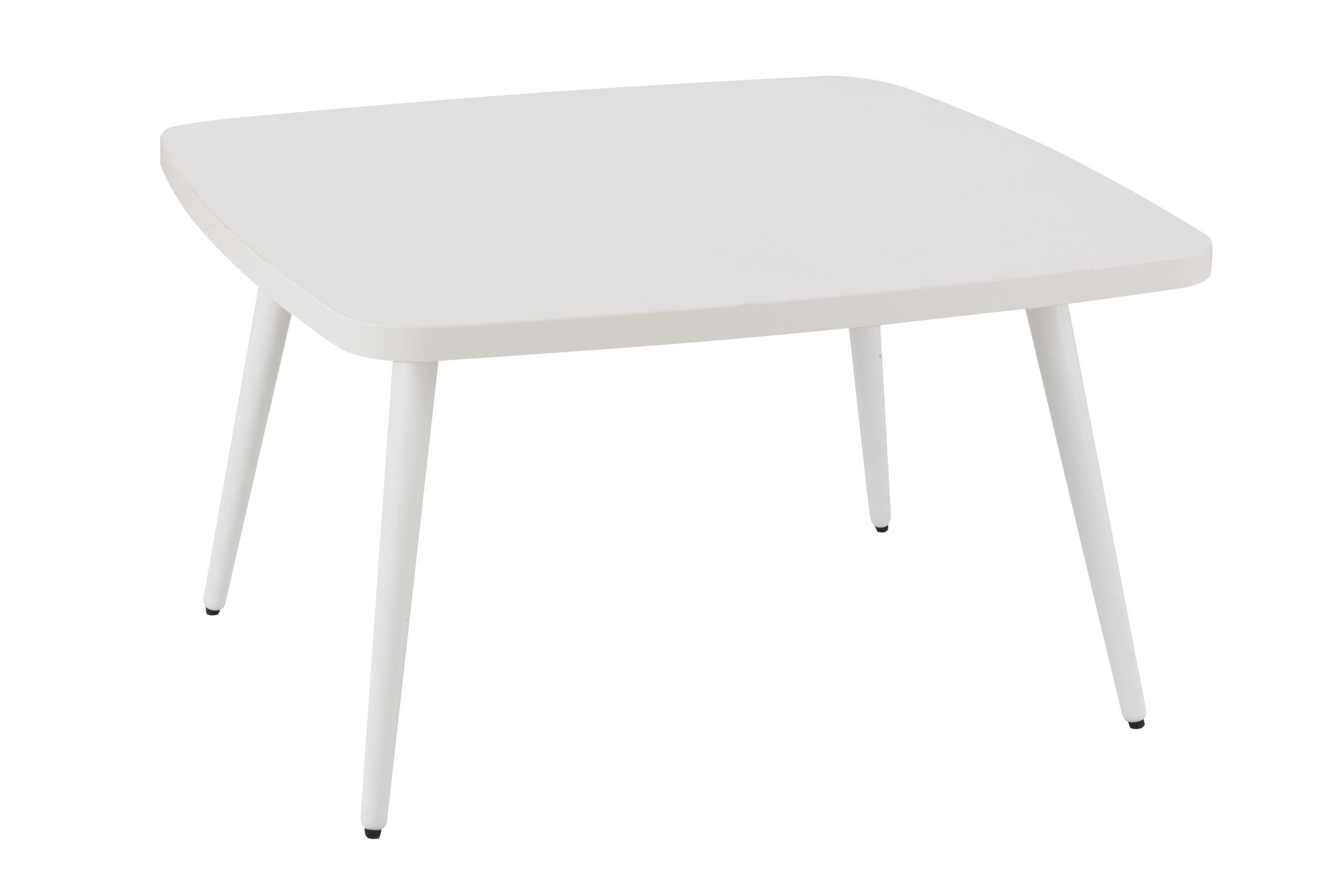 X-SPACE TABLE BASSE CARRÉE BLANC