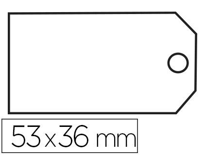 ÉTIQUETTES FIL COTON 36x53mm