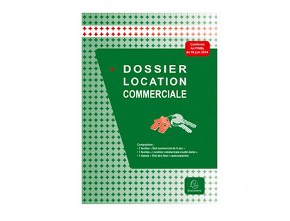 LOCATION COMMERCIALE DOSSIER COMPLET
