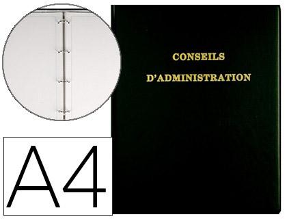 REGISTRE DÉLIBÉRATIONS CONSEILS D\'ADMINISTRATION