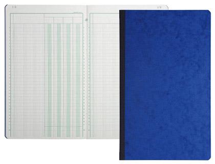 REGISTRE COMPTABLE 10 COLONNES SUR 2 PAGES 32x25cm