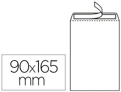 POCHETTE BULLES 90G 90x165MM