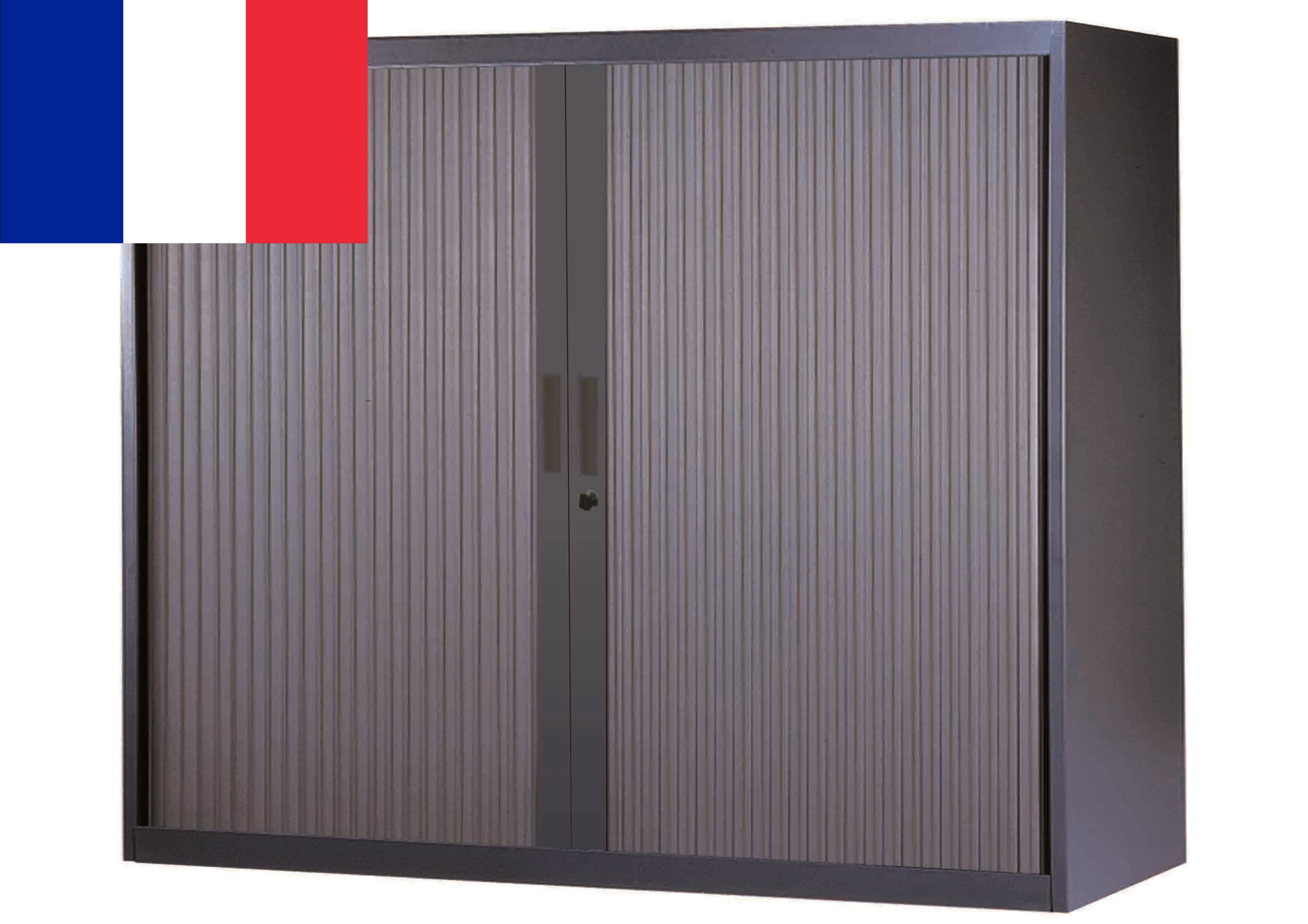 CORPS ANTHRACITE RIDEAUX ANTHRACITE ARMOIRE BASSE