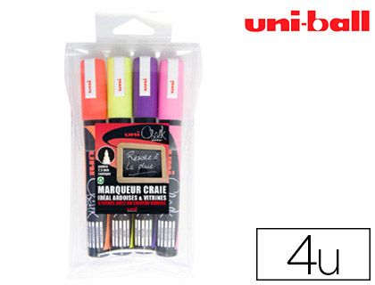CHALK MARKER POINTE FINE PACK DE 4